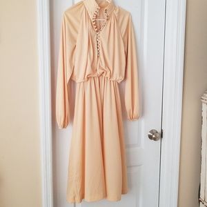 Buttercream Vintage Dress